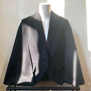 Burberry Prorsum Blazer/Cape Black Size 10